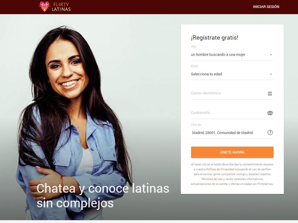 FlirtyLatinas: Opiniones sobre esta web de citas
